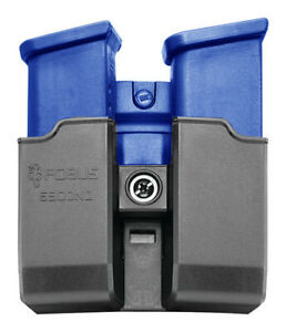 Fobus 9mm Evolution Pouch Double Mag Belt Holster .40 Blk Ambidextrous 6900NDBH