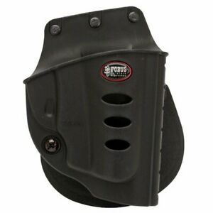 Fobus Evolution Right Hand Paddle Holster Ruger LCR Kydex Black SP101