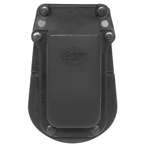 Fobus Single Magazine Paddle Pouch Holster Glock 20/21 Black Right Hand 3901G45
