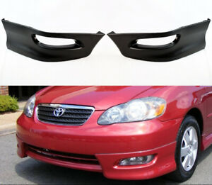 S Style Lower Bumper Spoiler Body Kit Lip for Toyota Corolla 2005-2008