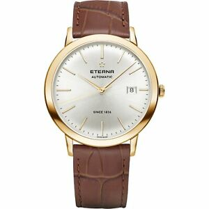 Eterna Men's 2700.56.11.1391 Eternity 40mm Automatic Gold-Tone PVD Watch