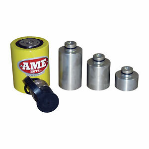 Ame International Alum-A-Stack Hydraulic Ram Kit-10-Ton Cap 3 Extensions 13070