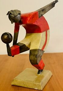 Metal Sculptures by Felguerez quot;The Soccer Playerquot; $75.00