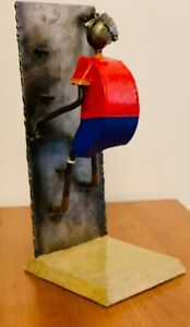 Metal Sculptures by Felguerez quot;The Wall Climberquot; $250.00