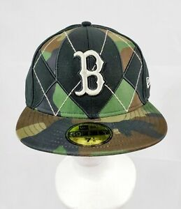 New Era 59Fifty Fitted Cap Authentic Boston Red Sox 7 18 Camo