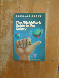 Hitchhiker#x27;s Guide to Galaxy by Douglas Adams HCDJ 1979