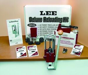 NEW LEE 4 Hole Turret Press with Auto Index Value Kit 90928