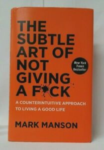 The Subtle Art of Not Giving A F*ck Mark Manson Hard Cover NEW