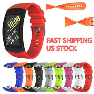 Durable For Samsung Gear Fit2/Gear Fit2 Pro/SM-R360 Watch Band Strap Sport US