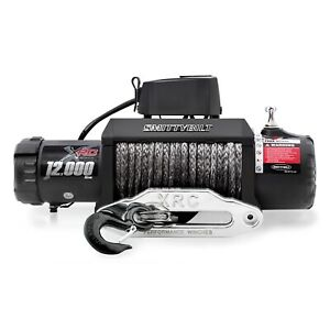 Smittybilt 98412 XRC-12K GEN2 Winch of Synthetic Rope Rated Line Pull - 12000lb