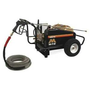 MI-T-M CW-4004-1ME3 Heavy Duty 4000 psi 3.9 gpm Cold Water Electric Pressure