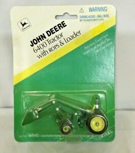 Ertl 1996 John Deere 6400 with Front Loader Die Cast 164 Farm Tractor #5732 New