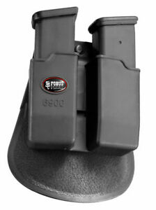 New Glock/H&K Fobus Holsters Paddle Double Black Mag Pouch  Model 6900P 6900