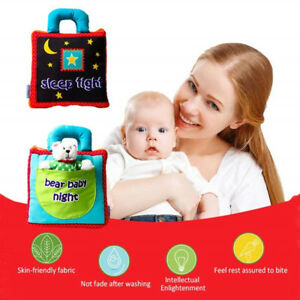 Novelty Intelligence Development Cloth Bed Book Early Development Toy Baby Kid