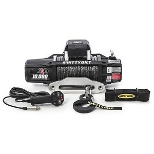 Smittybilt 98510 X2o-10K GEN2 Winch of Synthetic Rope Rated Line Pull- 10000lb