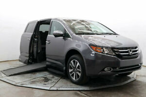 2015 Honda Odyssey Touring VMI Handicap Wheelchair Access Side Ramp Transfer Seat Northstar Nav DVD Save