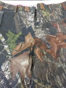 Mossy Oak Break Up Country Womens Cargo Jeans Pants Camo Hunting Size XL 12 14