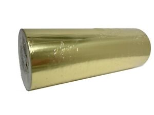 Jewelry 7.5quot; x 150 ft Gold Gloss Foil Gift Wrapping Paper Quality All Occasion