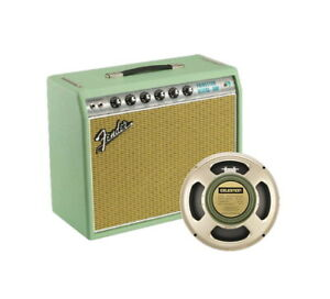 Fender 68 Princeton Reverb FSR Surf Green Limited Edition Tube Combo Amp New!