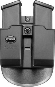 Fobus Double Mag Pouch 45 fits Glock Black Ambidextrous 6945GNDP