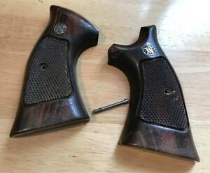 Smith & Wesson K Frame Square Butt Target Grips - USED (B)