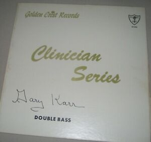 COLLECTORS ITEM GARY KARR CLINICIAN SERIES