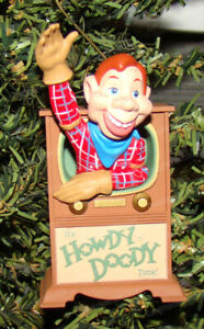 Howdy Doody Time Anniversary Edition Ornament (Hallmark Keepsake, QX6272) 1997