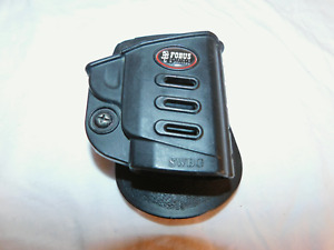 FOBUS S&W 380 BODYGUARD RETENTION R/H PADDLE HOLSTER ~ WILL FIT LASER SIGHT
