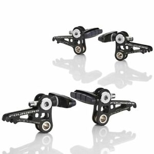 FOURIERS BR-S001 Double Plate Design Canti Brake (Front & Rear) Black