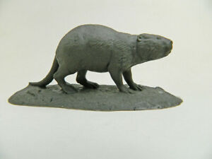 Giant Beaver (Castoroides) of the Ice Age! 1/24 Scale Resin Model super rare!