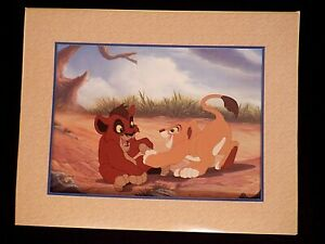 Disney Exclusive Commemorative Lithograph from Lion King II Simba's Pride