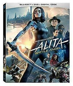 Alita Battle Angel Blu-Ray + DVD + Digital + Slipcover (2019) NEW and SEALED