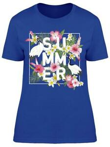 Cool Tropical Summer Women's Tee -Image by Shutterstock