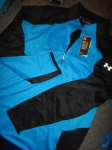 UNDER ARMOUR REACTOR COLDGEAR 14 ZIP PULLOVER FITTED 4XLT XLT L  MEN NWT $84.99