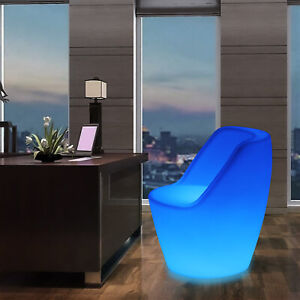 Changing LED Light Up Furniture Chairs Pub Club Lounge Party Outdoor Patio Seat