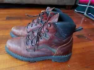 VTG RED WING Mens 926 EH Dyna Force Toe Leather Work Boots Size U.S. 12 EH shoes