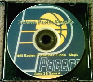 INDIANA PACERS DVD - 1995 EASTERN CONFERENCE FINALS vs ORLANDO MAGIC GAMES 3