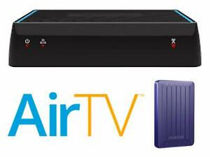 AirTV Classic Dual-Tuner Local Channel OTA DVR Streaming Air TV -free hard drive