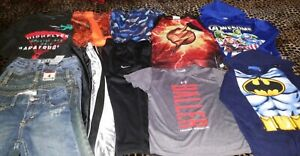 Lot 12 Boys NWTPre 4T4 UANikeLevis3Jeans Hoody4 Shirts2 Trk Pant2Shorts