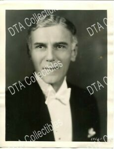 NORMAN TREVOR 1920'S 8X10 STILL HEAD SHOT vg VG