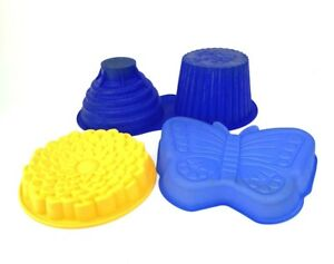 Lot of 3 silicone molds for candy, chocolate, soap making, ice, cake decorating
