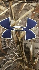 Under Armour Boys Youth Hoodie Sz. YXL Camowith Navy Logo NICE Excellent