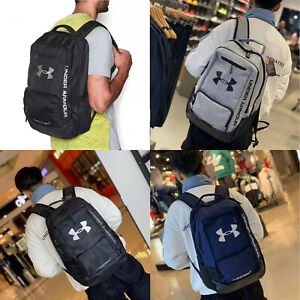 2019 New Style Under Armour Hustle UA Storm Backpack Laptop School Bag Camping