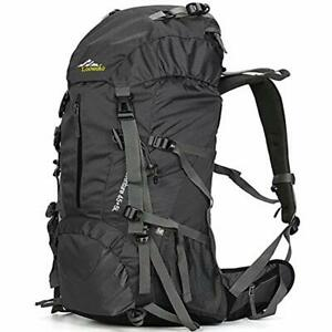 Hiking Daypacks Backpack 50L Travel Waterproof With Rain Cover For Climbing