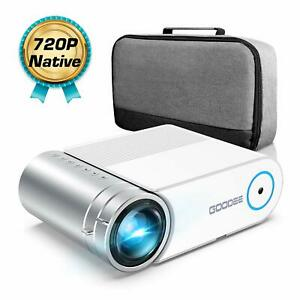 Mini Projector 1080P Full HD Video Projector 3800 Lux with 50k Hrs200