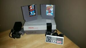 Nintendo Nes Console  System With Games Bundle
