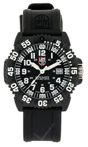 LUMINOX Navy Seal Colormark 3051 Series BLK Rubber Men's Watch XS.3051