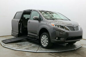2015 Toyota Sienna Limited Premium VMI Handicap Wheelchair Access Side Ramp Northstar Limited Prem Nav DVD BSM Save