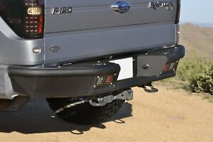Addictive Desert Designs R011231280103 Stealth Fighter Rear Bumper Fits F-150