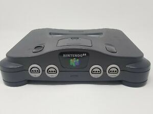 Nintendo 64 Console Only With Expansion pack and Video Cable TESTED N64 NUS-001